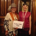 AAUW Cedar Falls in the parade of branches at the State Conference.